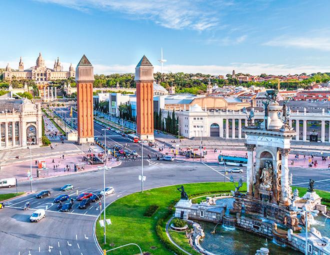 Esplendor europeo 17 d as de par s a barcelona con for Tour de barcelona a paris