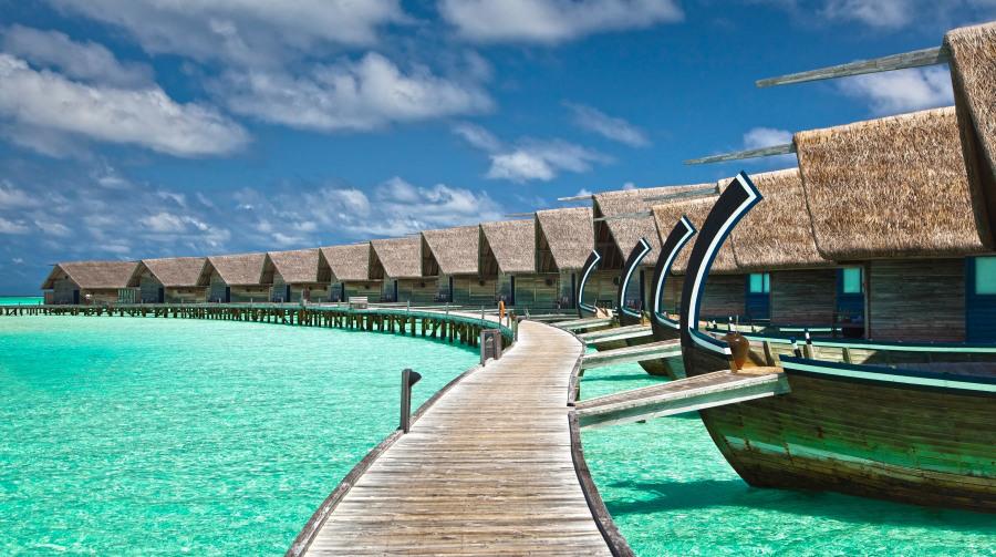 Las islas maldivas turismo en un para so de arena blanca for Hoteles mas lujosos del mundo bajo el mar