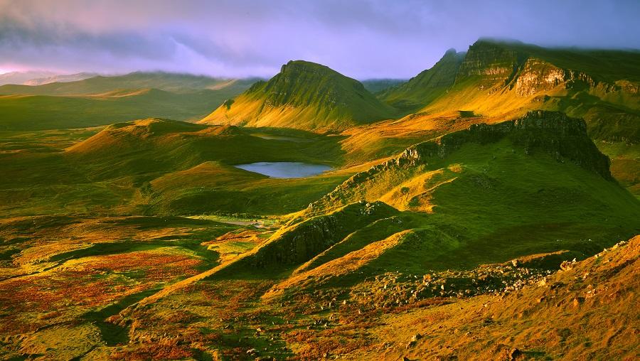 Las Tierras Altas De Escocia Son Tierras De Leyendas De